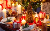 Title:christmas dinner table-Holiday desktop wallpaper Views:2230