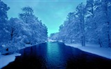 Title:cold blue winter river-Nature wallpaper Views:3340