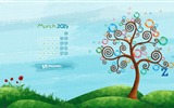 Title:Hello Spring-March 2015 Calendar Wallpaper Views:1973
