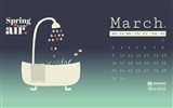 Title:Spring Is In The Air-March 2015 Calendar Wallpaper Views:2260