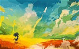 Title:clouds multicolor-Design HD Wallpaper Views:2151