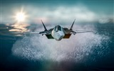 Title:fighter spray sea flight-High Quality HD Wallpaper Views:1711