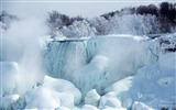 Title:Melting of snow and ice waterfall-2015 Bing theme wallpaper Views:1994