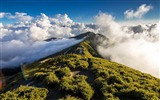 Title:mountains sky fog clouds-Photo HD Wallpaper Views:2295