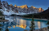 Title:Moraine Lake Alberta Canada-Nature HD Wallpaper Views:965