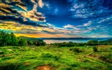 Title:Green hills-iMac System Scenery HD Wallpaper Views:2779