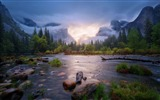 Title:Gurgling river-iMac System Scenery HD Wallpaper Views:1707