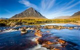 Title:mountain sky river stones-Nature HD Wallpaper Views:1386
