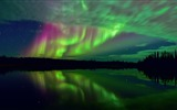 Title:northern lights and stars-Nature HD Wallpapers Views:1605