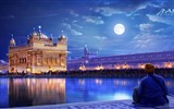 Title:Golden temple amritsar punjab india-Cities HD Wallpaper Views:1414