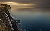 Title:Scotland coast waterfall-Nature Photo HD Wallpaper Views:1945