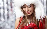 Title:Beautiful girl-2016 Christmas Wallpaper Views:3063