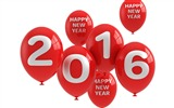 Title:Happy new year balloons-2016 Merry Christmas Wallpaper Views:1795