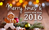 Title:Merry xmas new year-2016 Merry Christmas Wallpaper Views:1979