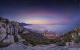Title:Monaco summer sunrise-HDR Photography Wallpaper Views:1567
