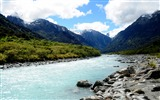 Title:Beautiful River Oceania New Zealand-Scenery HD Desktop Wallpaper Views:1508
