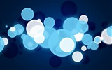 Title:Blue glare circles light point-Design Theme HD Wallpaper Views:1064