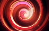 Title:Circle red abstract paint-Design Theme HD Wallpaper Views:1403