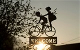 Title:Decoration bike welcome sunshine-High Quality HD Wallpaper Views:1287