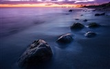 Title:Italy Beach Dark Sunset-Photo HDR Wallpaper Views:1347