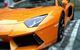 Title:Lamborghini side view spotlight-High Quality HD Wallpaper Views:1249