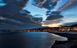 Title:Night shoreline City-Nature HD Wallpaper Views:1203