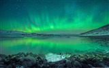 Title:Over Iceland aurora-Windows 10 Theme HD Wallpaper Views:7035