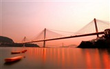 Title:Red Bridge Hong Kong-Photo HDR Wallpaper Views:1750