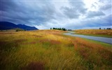Title:Road Hills Gorgeous Evening Arrowtown-Nature HD Wallpaper Views:1571