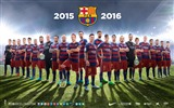 Title:2015-2016 FC Barcelona Football Club HD Wallpaper Views:9873