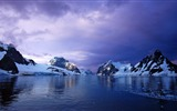 Title:Antarctic mountains sunset-Perfect Scenery HD Wallpaper Views:1103