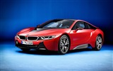 Title:BMW i8 protonic red-Luxury Car HD Wallpaper Views:1155