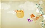 Title:Spring Is Coming-March 2016 Calendar Wallpaper Views:1707