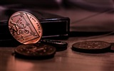 Title:Coins money low light-Macro photo HD Wallpaper Views:925