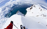 Title:Antarctica skiing travel snow-Nature High Quality Wallpaper Views:1531