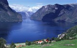 Title:Aurlandsfjord norway-Nature scenery HD Wallpaper Views:968