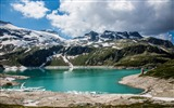 Title:Austrian alps lake mountains-Nature High Quality Wallpaper Views:1400