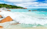 Title:Awesome Waves Beach-Nature High Quality Wallpaper Views:1441