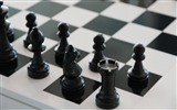Title:Chess chessboard figure bw-Sports Poster Wallpaper Views:1288