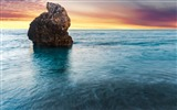 Title:Greece beach island lefkada ocean sunset-Nature HD Wallpaper Views:1845
