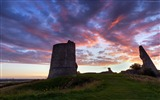 Title:Hadleigh castle essex green grass sunset-Nature HD Wallpapers Views:1484