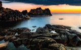 Title:Hovs hallar sweden beach sunset sunrise-Nature HD Wallpapers Views:1816