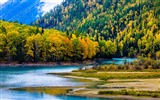 Title:Kanas Lake Xinjiang China Travel Photo HD Wallpaper Views:2980