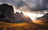 Title:Mountains autumn sunset rocks clouds-Nature High Quality Wallpaper Views:1042