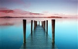 Title:Sea mist pier sky-Nature High Quality Wallpaper Views:1386