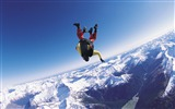 Title:Skydiver fly sky clouds-Sports Poster Wallpapers Views:1015