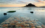 Title:Road stones surf island castle-Scenery Photo HD Wallpaper Views:727