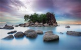 Title:Rocks ocean island-Nature Scenery HD Wallpaper Views:1219