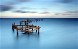 Title:Sea boards surface horizon-Scenery Photo HD Wallpaper Views:837