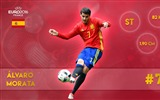 Title:Alvaro Morata-UEFA Euro 2016 Player Wallpaper Views:1491